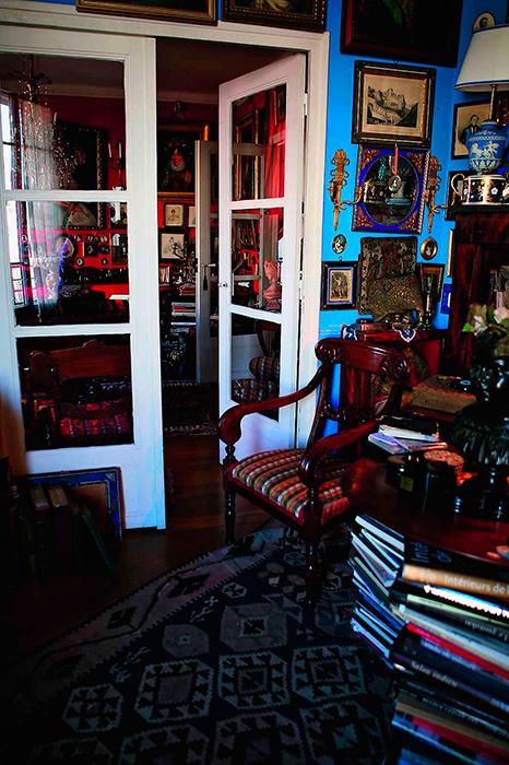 Квартира Александра Васильева в Париже