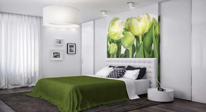 Что повесить над кроватью, если надоели картины