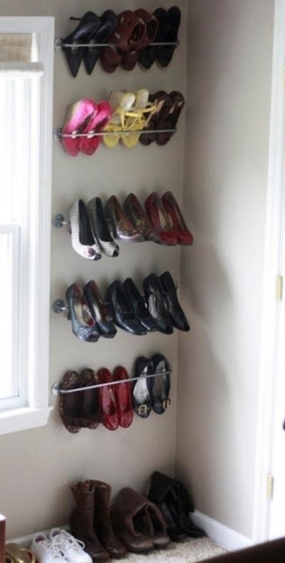 Как и где практично хранить обувь, без потери пространства