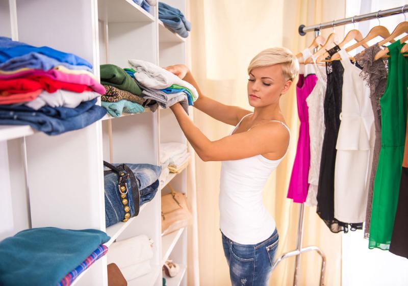 Как легко упорядочить вещи в шкафу, чтобы в нем всегда был порядок