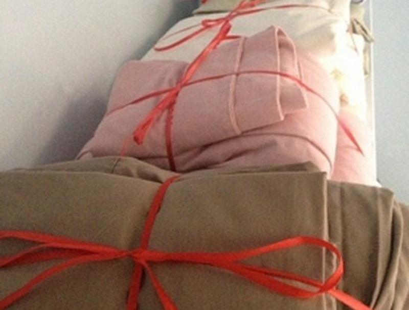 4 интересных и удобных способа хранения постельного белья